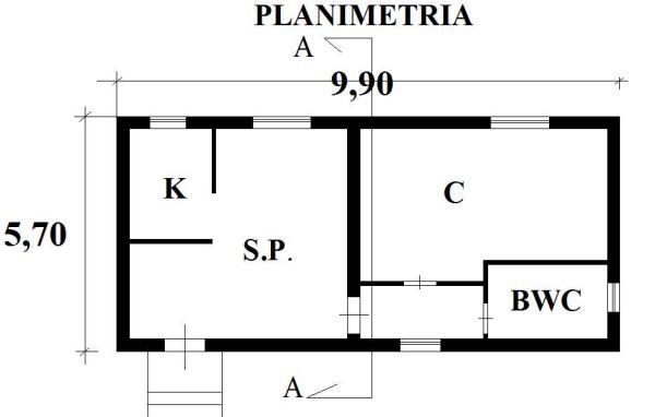 Come costruire una casa in muratura for Planimetrie per costruire una casa