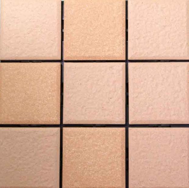Le piastrelle quadrate del pavimento con lazione abrasiva - Messa in opera piastrelle ...