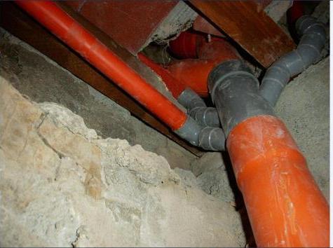 Scarichi dei bagni wc colonne montanti e derivazioni tubi in pvc ristrutturazioni vecchi - Cattivo odore bagno tubo di sfiato ...