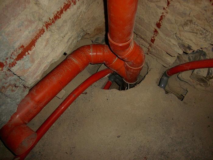 Gl impianti di garabello luigi tubazioni di scarico dei singoli apparecchi - Scarico lavandino bagno ...
