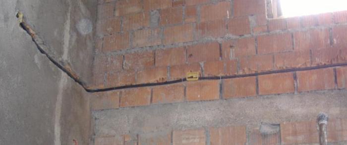 Tracce nei muri e nelle pareti per messa in opera dei - Tracce su muri portanti ...