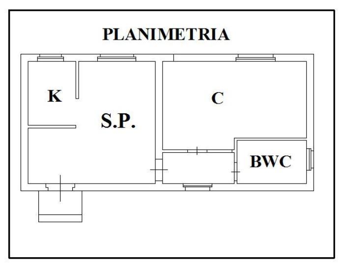 Realizzazione di massetto cementizio a copertura degli for Planimetrie della casa texas