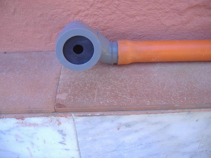 Gl impianti di garabello luigi tubazioni di scarico dei for Collegamento del tubo di rame al pvc