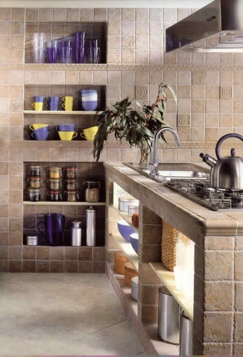 Organizzare fasciatoio quando si ha poco spazio - Rivestimenti cucina classica ...