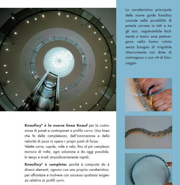 Cartongesso Profilati Metallici Per Pareti Curve Volte Ed Archi