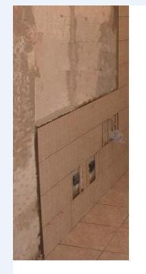 Pulire un muro dalla colla delle piastrelle del rivestimento come fare - Stuccare piastrelle bagno ...