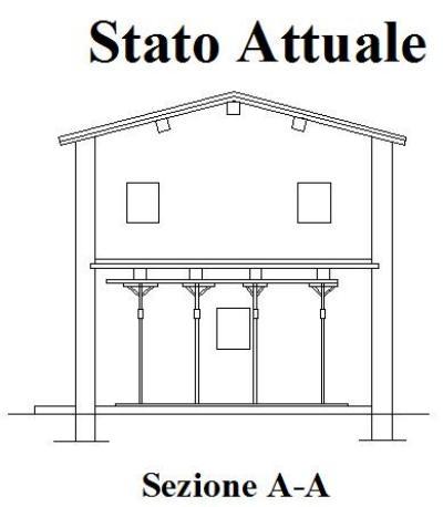 Ristrutturazione casa rimozione della grossa e piccola for Solaio a sbalzo dwg