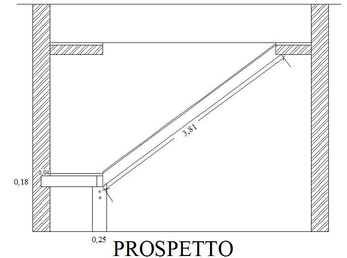 Come costruire una scala messa in opera dei longheroni for Scale in legno fai da te