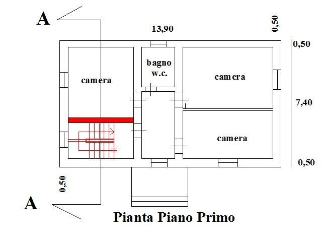 Ristrutturare una casa demolizione solaio realizzazione - Spessore muri interni ...