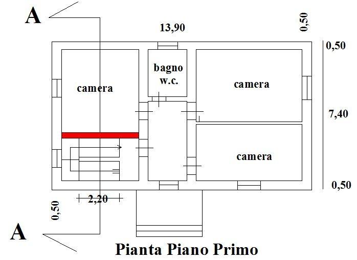 Ristrutturare una casa proseguimento rampa scale e for Piccoli piani di un piano