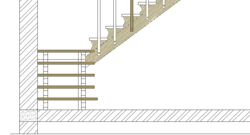 Scala in legno progettazione e costruzione - Disegni di scale interne ...