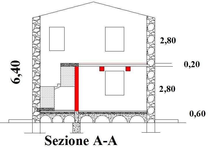 Ristrutturare una casa pozzo scale interno muro portante for Quanti soldi per costruire una casa