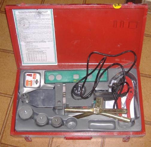 Impianto idrico come usare il polifusore per tubi plastici for Quali tubi utilizzare per l impianto idraulico