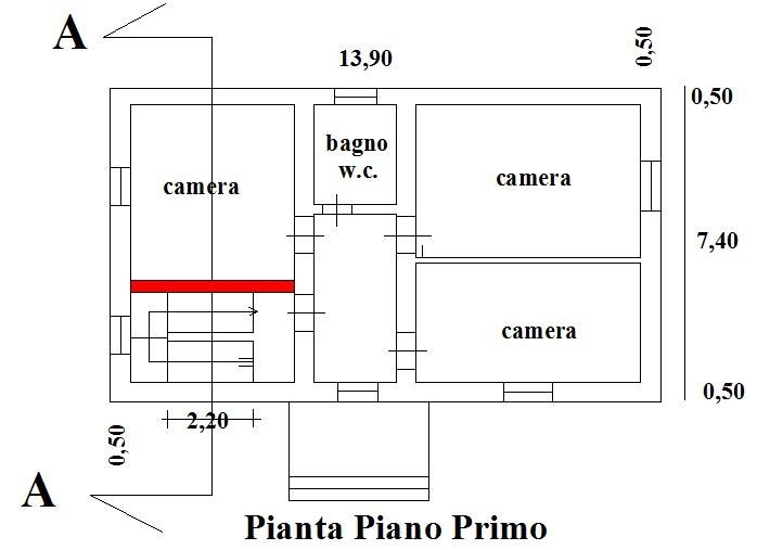 Ristrutturare una casa in muratura armatura del cordolo for Piani di casa con stima dei prezzi