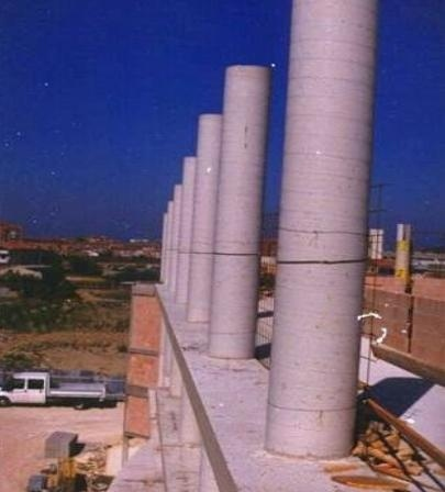 Pilastri rotondi