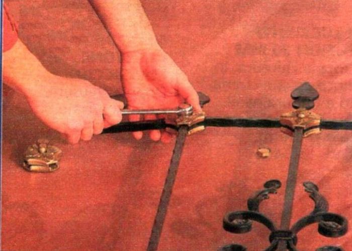 Il ferro battuto una antica arte alla portata di tutti for Inferriate fai da te