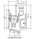 Miscelatori piatto doccia disabili misure standard altezza - Box doccia misure standard ...