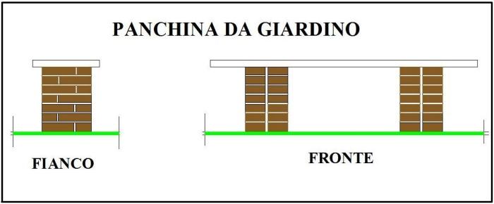 Costruire Una Panca In Legno Da Giardino.Costruire Una Panchina Come Fare