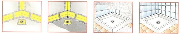 impermeabilizzare piastrelle della doccia