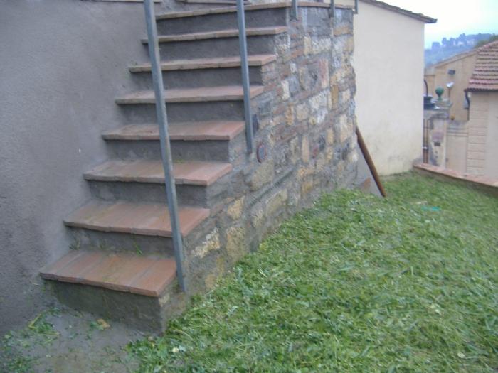 Trattamento del cotto esterno cosa adoperare e come fare - Scale da giardino ...