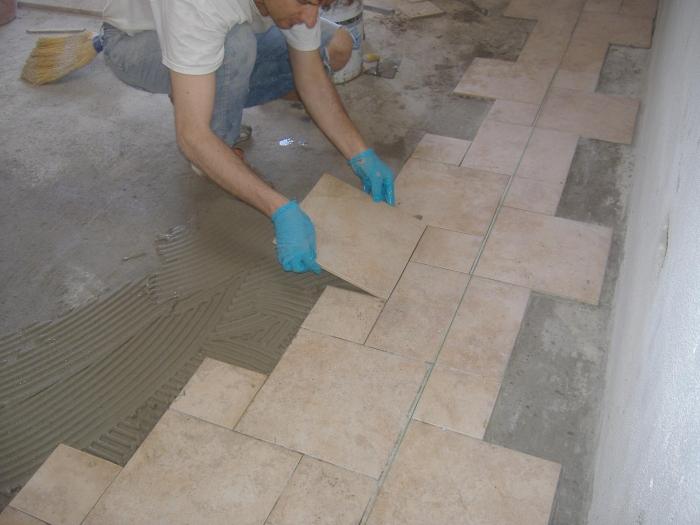 Posa gres su pavimento esistente affordable il with posa gres su