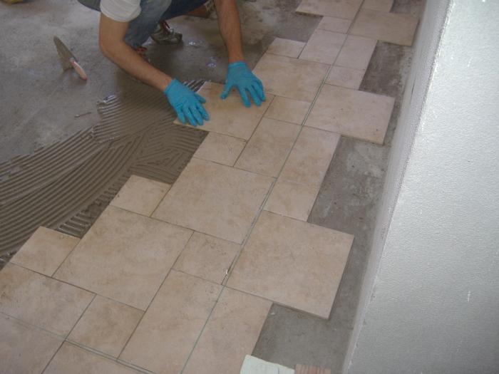 Come piastrellare un terrazzo terminali antivento per - Piastrellare un pavimento ...