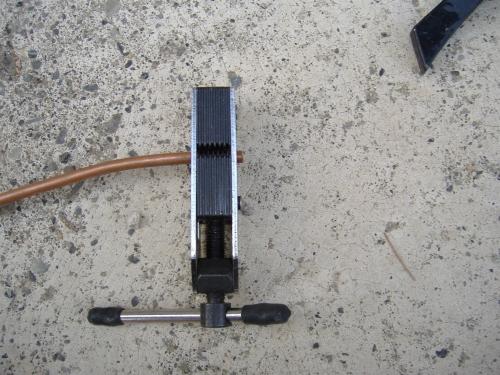 Condizionatori accorciare i tubi in rame e farci la for Tubo di rame a pex