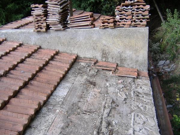 Risanamento semplice di un tetto for Tettoia in legno dwg