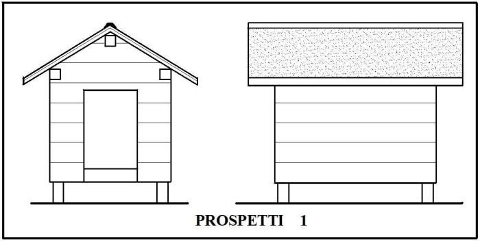 Come costruire una cuccia coibentata per il nostro amico for Tempo per costruire una casa