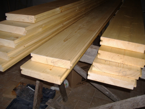Realizzazione di un soppalco in ferro e legno come fare prima parte - Tavole di legno per edilizia ...
