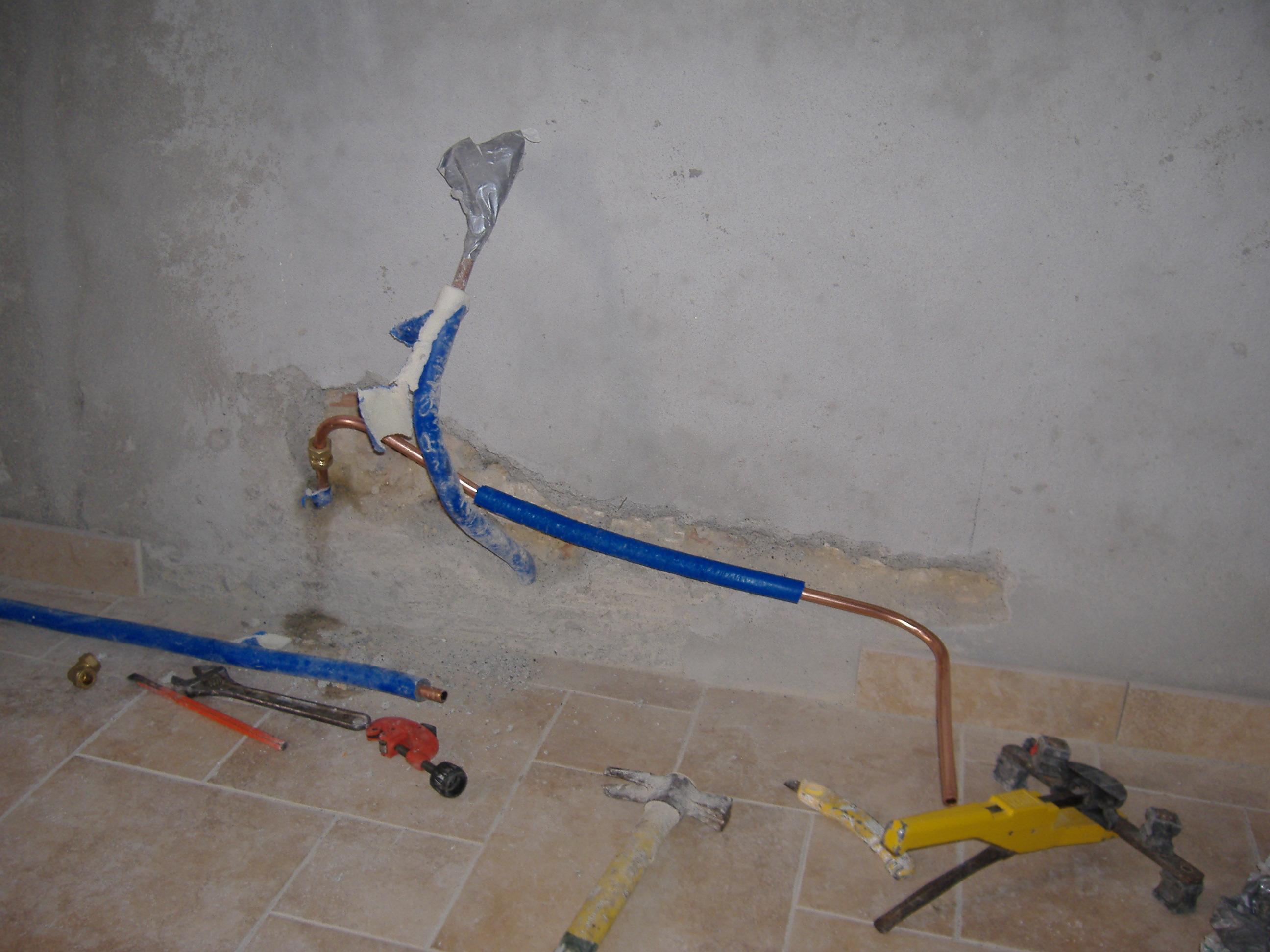 Come aggiuntare un tubo in rame per riscaldamento - Condizionatore perde acqua dentro casa ...