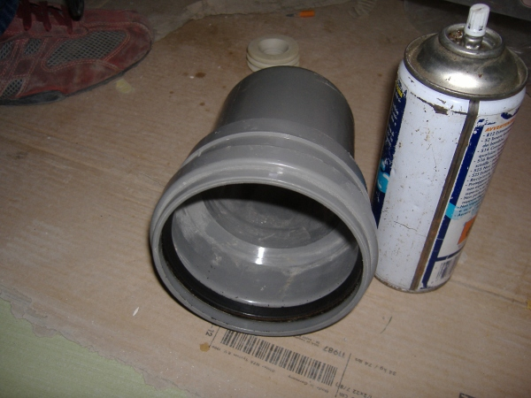 Vaso per wc installazione for Collegamento del tubo di rame al pvc