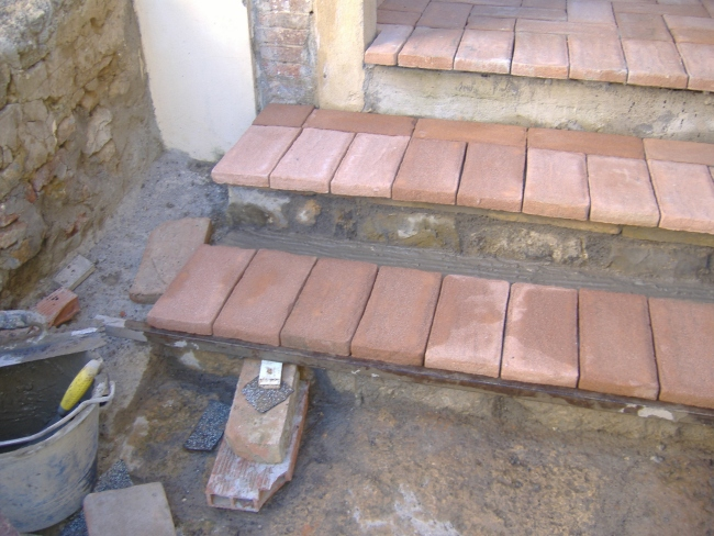 scalini da esterno