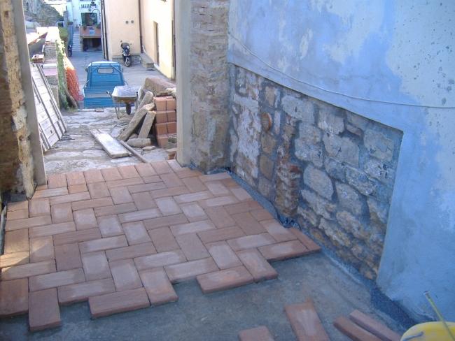 Come costruire un pavimento di cotto esterno - Pavimento in cotto per esterno ...