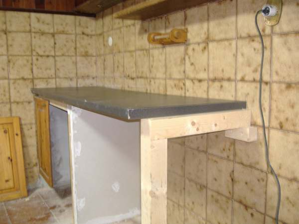 Costruire un bancone in cartongesso - Pannelli termoisolanti