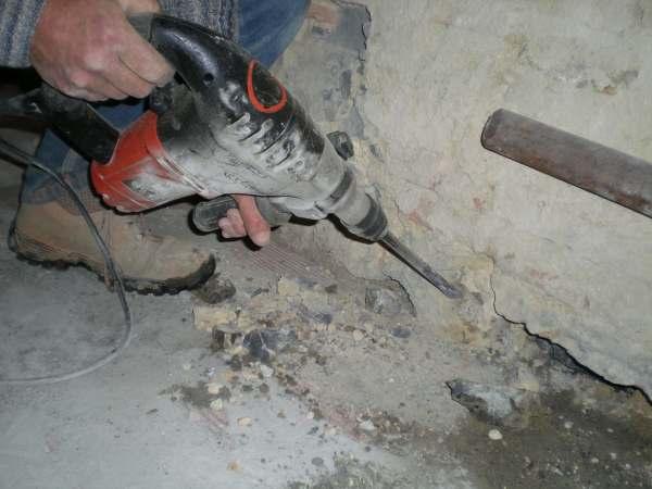 Trapano martello perforatore demolitore elettrico 11W MP 1100
