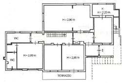Come vengono calcolati i vani catastali di un appartamento for Planimetria semplice con dimensioni