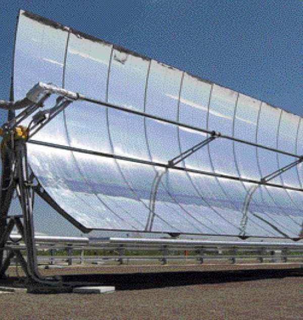Pannello Solare A Concentrazione Definizione : Il solare temodinamico a concentrazione una idea italiana