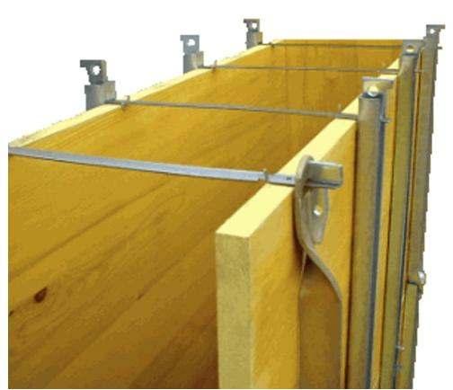 Uso di un disarmante per cemento armato a vista - Tavole di legno per edilizia ...