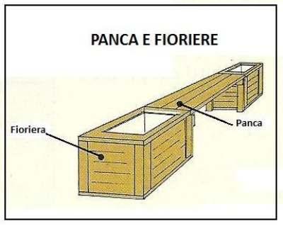 Un angolino per la nostra terrazza for Panche in legno leroy merlin