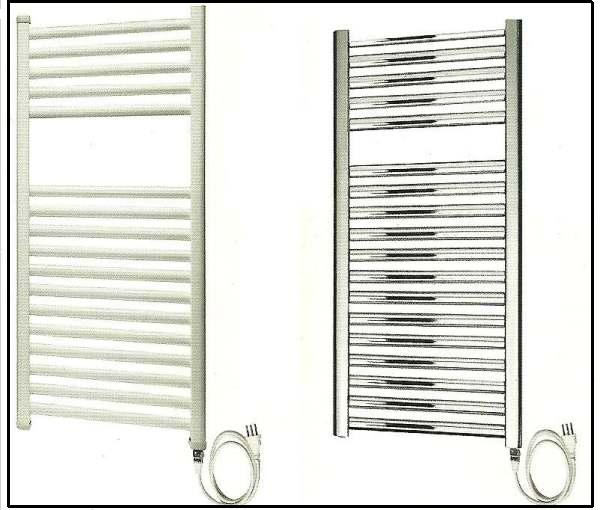 uno scaldasalviette elettrico per il vostro bagno On radiatori elettrici per bagno