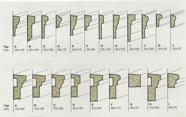 Profili decorativi per facciate intonacate o con cappotto for Decorazioni per facciate esterne