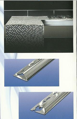 Profili innovativi per i nostri bagni e cucine attuali e - Profili per piastrelle rivestimento ...