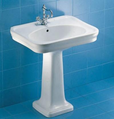 Messa in opera di un lavabo con e senza colonna for Lavabo a colonna