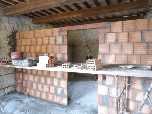 Architrave porta interna cemento armato precompresso - Parete interna in legno ...
