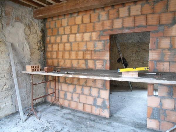 Proseguimento e ultimazione di una parete in forati 3 e for Quanto sarebbe stato costruire una casa