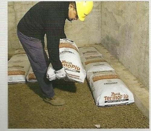 Sacchi di argilla espansa