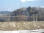 Una idea dell'uso dell'eolico nei paesi agricoli della Germania.