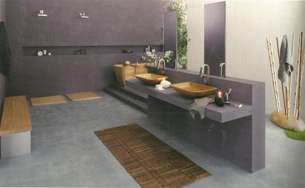 una linea di apparecchi sanitari per il bagno, in legno caldo ed ... - Foto Bagni Moderni In Muratura