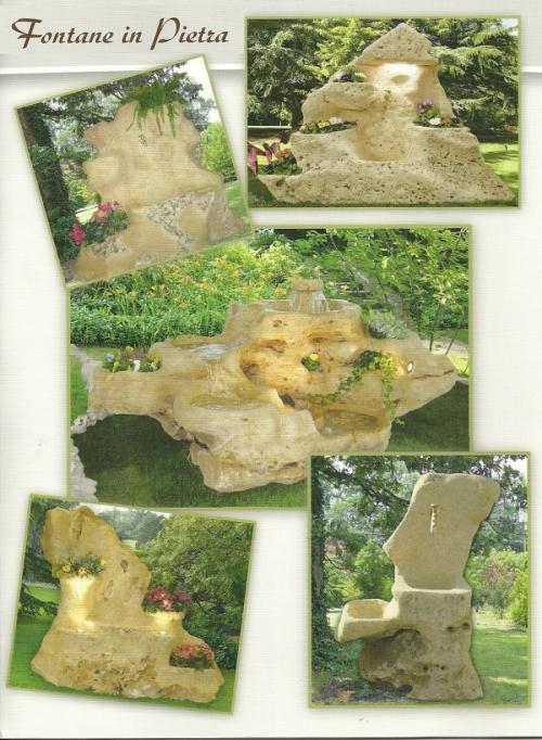 Fontane gazebo fioriere le opere da giardino ricavate for Schierandosi dalla roccia in casa